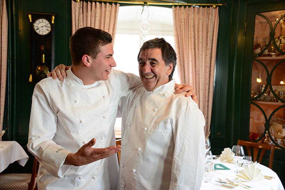 Roger und Seppi Kalberer Restaurant Schlüssel Mels Gourmet Köche